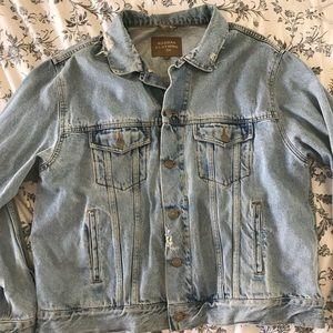 Vintage distressed jean jacket